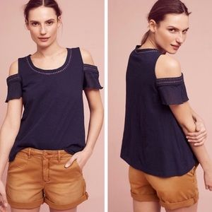 Akemi Kin Cold Shoulder Top Salma Top